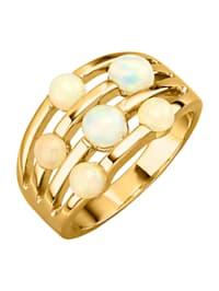 Damenring mit Opalen