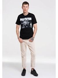 T-Shirt Pulp Fiction mit lässigem Front-Print