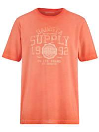 T-shirt i trendig, tvättad look