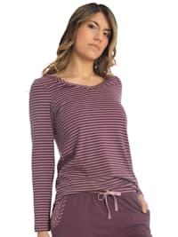 Damen T-Shirt Langarm Lovely Winter