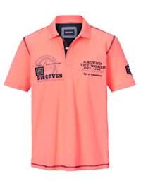 Poloshirt bedruckt und bestickt