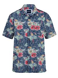 Hawaiihemd in reiner Baumwolle