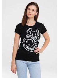 T-Shirt Snoopy - Astronaut mit lizenziertem Originaldesign