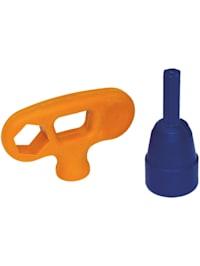Steckschlüssel Kombi-Werkzeug SW 17mm