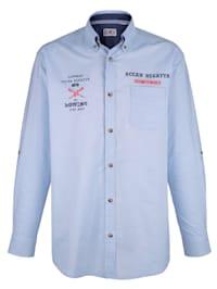 Košile s výšivkou na přední části