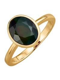 Damenring mit schwarzem Opal