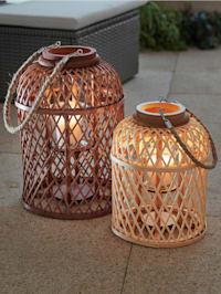 Lame décorative LED solaire 'Corbeille