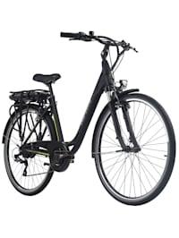 Pedelec E-Bike Cityfahrrad 28'' Adore Versailles schwarz-grün
