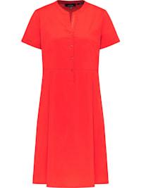 Modernes Kleid mit Knopfleiste