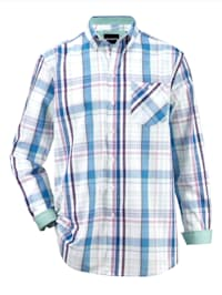 Overhemd in zomerse kleuren