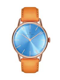 Uhr Serenity Sky Blue Leather 32mm