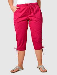 Capri kalhoty z bavlny