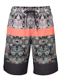 Koupací šortky s trendovým potiskem