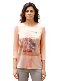 Shirt mit Druck im Vorderteil