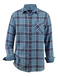 Skjorta i jeanslook