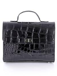 Väska i lackskinn