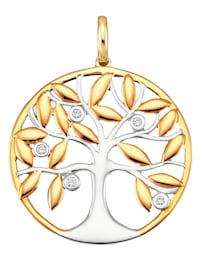 Livstre-anheng i gull 585