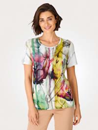 Shirt in Aquarell-Optik