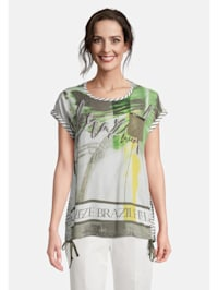Blusenshirt mit Print