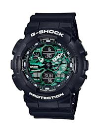G-Shock Classic Herrenuhr Schwarz/Grün