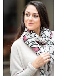 Italienischer Schal Osaka Made in Italy