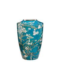 Goebel Vase Vincent van Gogh - Mandelbaum blau