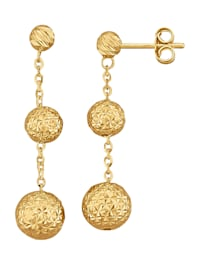 Ohrringe in Gelbgold 585