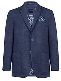 Veste de costume en jersey à poches intérieures pratiques