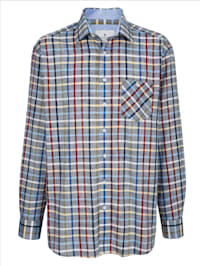 Overhemd van zuiver katoen