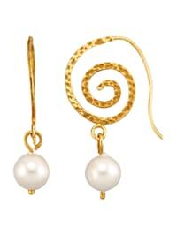 Boucles d'oreilles Avec perles de coquillage