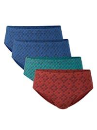 Lot de 4 slips