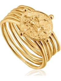 Ania Haie Damen-Damenring Apollo Ring 925er Silber