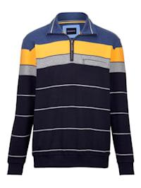 Sweatshirt in feiner Struktur