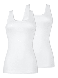 2er Pack Damen Unterhemd
