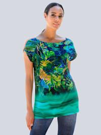 Strandshirt mit Farbverlauf