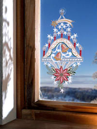 "Okenná dekorácia ""Svietnik"""
