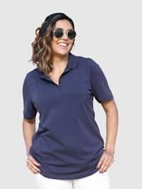 Tričko z lehcestrukturovaného bavlněného materiálu