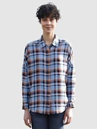 Bluse mit tollem grafischen Muster