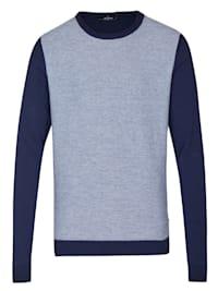 Modischer Pullover in Streifenoptik