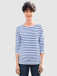 Shirt met strepen