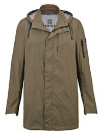 Pakattava takki ja säilytyspussi