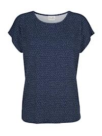 Tričko s puntíkovým vzorem
