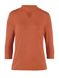 Top with cutout detail