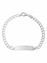 Identarmband Unisex, Sterling Silber 925