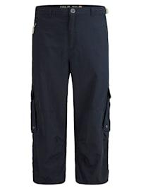 Shorts med reglering i linningens sidor