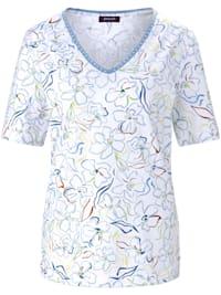 T-Shirt mit floralem Allover-Print