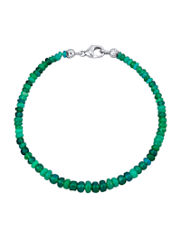 Bracelet d'opale en argent 925