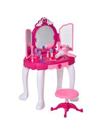 Kinderschminktisch mit Spiegel und Musik