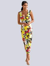 Strandkleid in sommerlichem Blumendessin