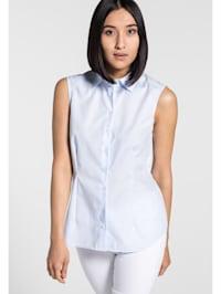 ohne Arm Bluse MODERN CLASSIC unifarben